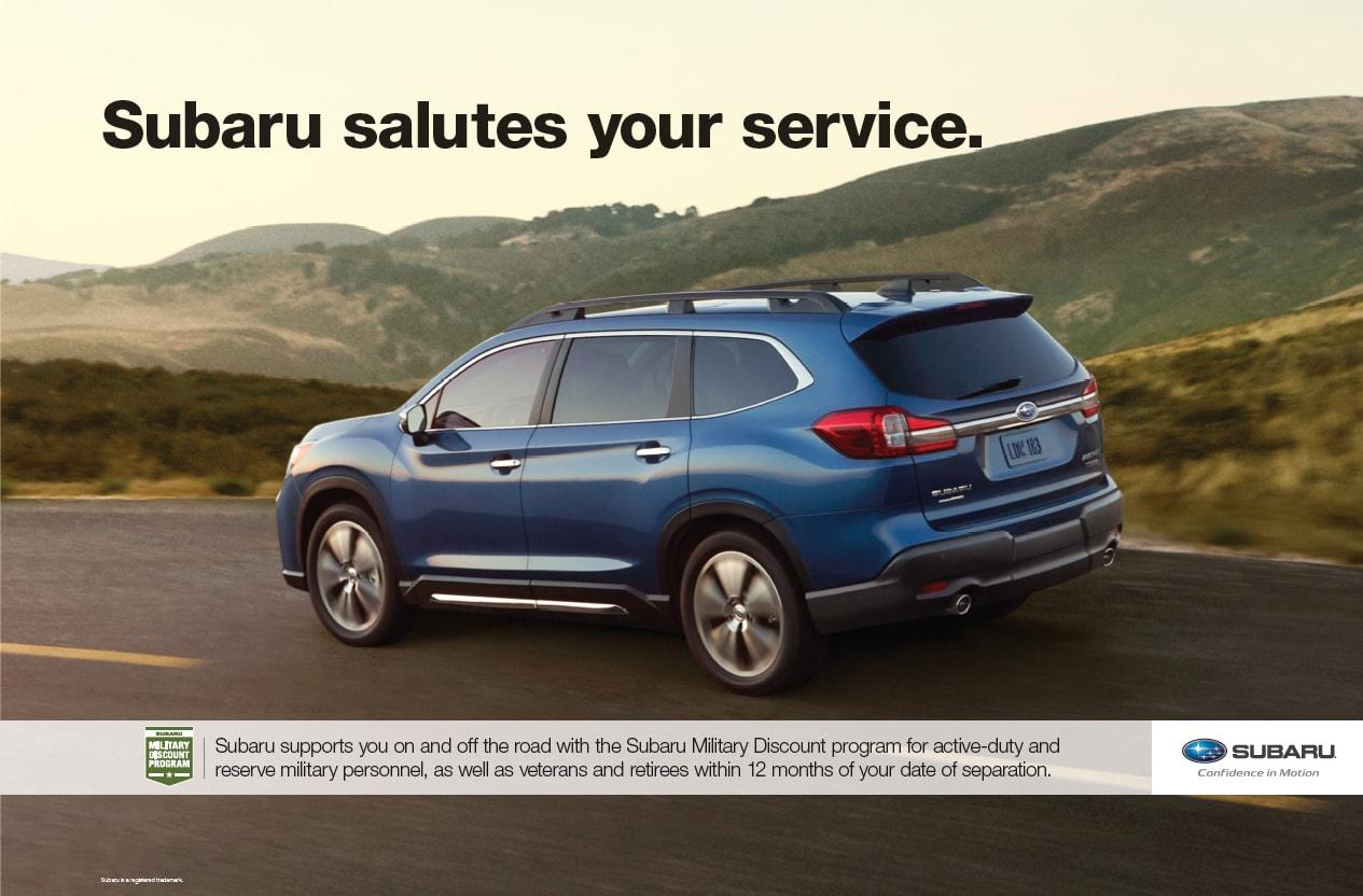 Rancho Grande Motors >> Military Program Subaru Rancho Grande Subaru
