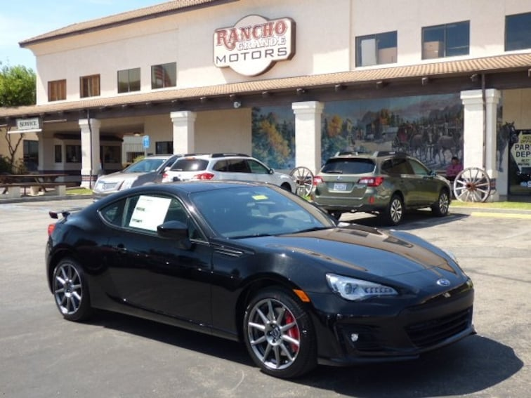 New 2018 Subaru BRZ Limited with Performance Package Coupe in San Luis Obispo, CA