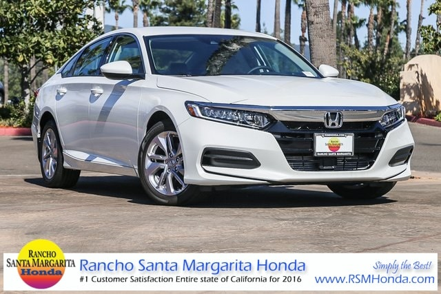 New 2019 Honda Accord LX Sedan Irvine