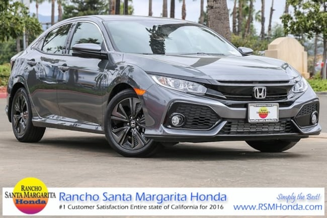 New 2019 Honda Civic EX Hatchback in Rancho Santa Margarita, CA