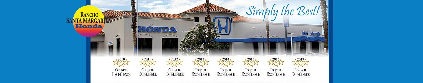 Honda Dealer Orange County | Rancho Santa Margarita Honda