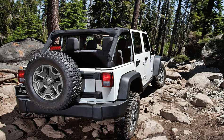2016 Jeep Wrangler Off-Road Performance