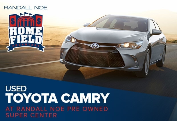 Why Buy a Used Toyota Camry