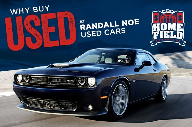 Why Buy Used at Randall Noe Used Cars