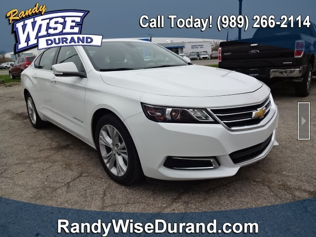 Randy Wise Durand >> Used 2015 Chevrolet Impala Lt For Sale Clio Mi