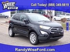 New 2020 Ford EcoSport SE Crossover MAJ3S2GE9LC313853 for sale in Ortonville near Flint, MI