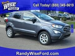 New 2019 Ford EcoSport SE Crossover MAJ6S3GL6KC308867 for sale in Ortonville near Flint, MI