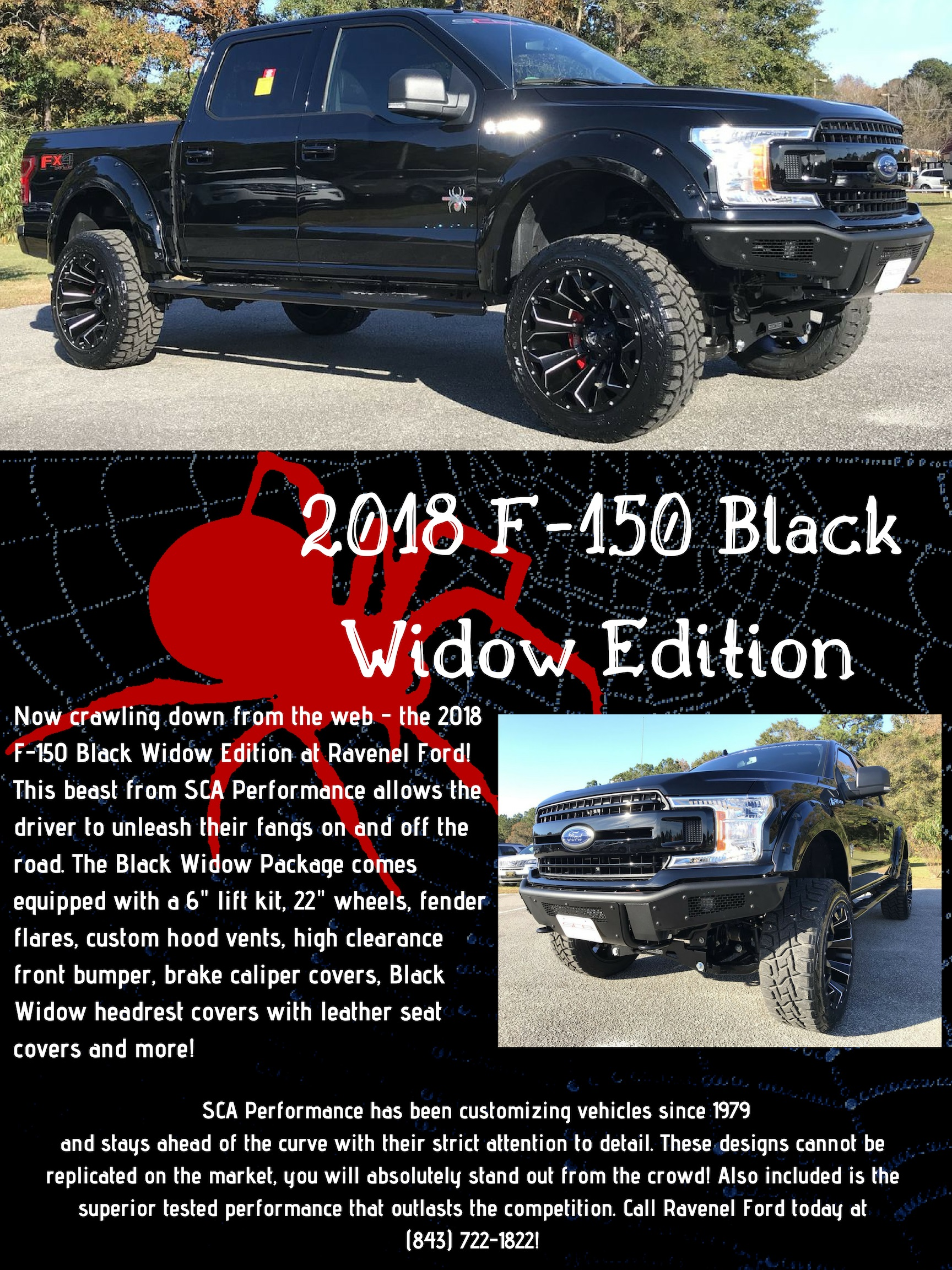 Center Bold F 150 Black Widow Edition At Ravenel Ford Bold