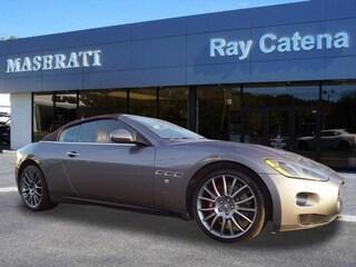 2015 Maserati GranTurismo Base Convertible