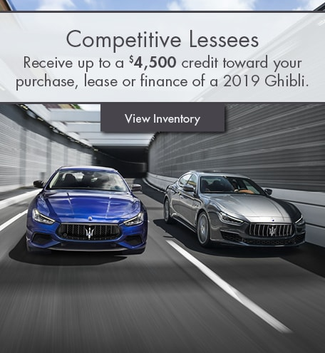 Lease Pull Ahead Special Offer