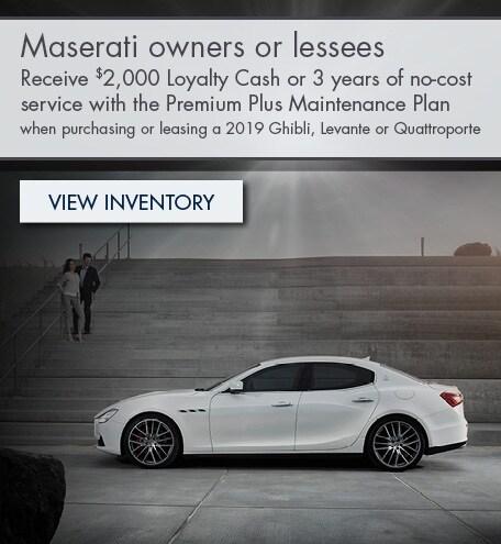Maserati Loyalty Program