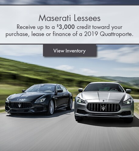 Lease Loyalty Special Offer