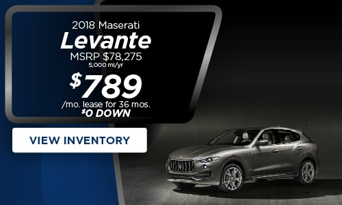 Lease Specials Near Me >> New Jersey Maserati Lease Specials Ghilbli Lease Offer