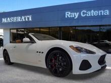 2018 Maserati GranTurismo Sport Convertible