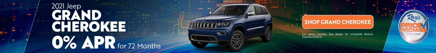 2021 Jeep Grand Cherokee- April Offer