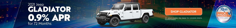 2021 Jeep Gladiator- April Offer
