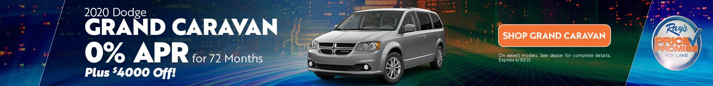 2020 Dodge Grand Caravan- April Offer
