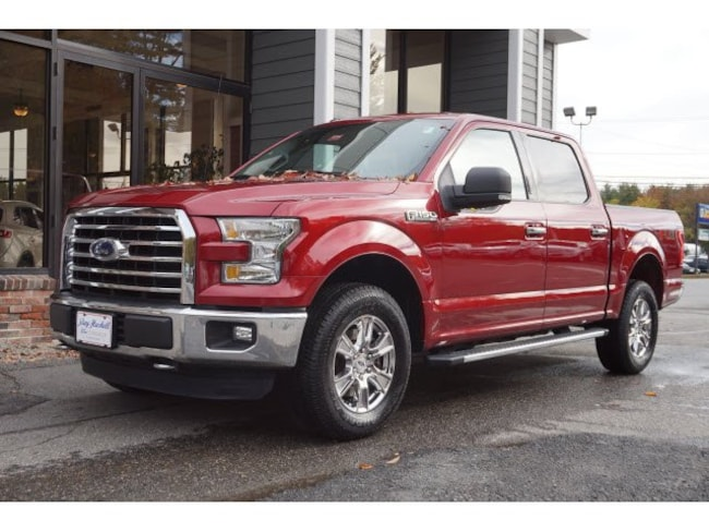 2016 Ford F-150 XLT 4x4 XLT  SuperCrew 5.5 ft. SB