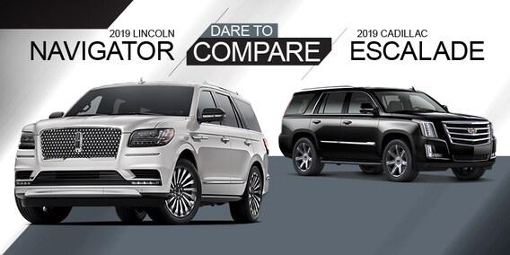 Lincoln Vs Cadillac >> 2019 Lincoln Navigator Vs Cadillac Escalade Ray Pearman