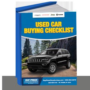 Used Car Buying Checklist Free Ebook Mount Pocono Pa Ray Price