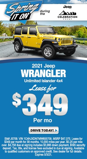 2021 Jeep Wrangler Unlimited - Special