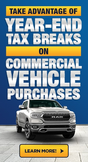 Take Advantage of Year-End Tax Breaks on Commercial Vehicles Purchases