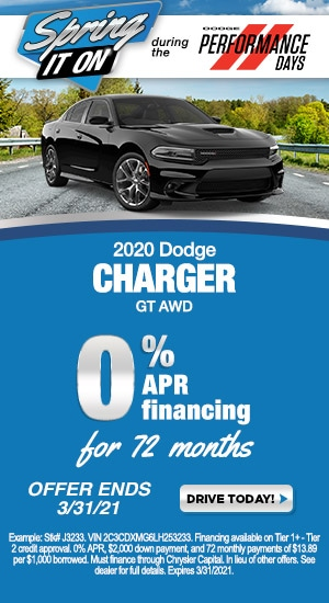 March - Dodge Charger