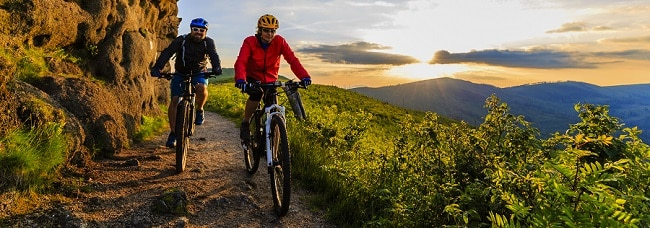 Biking Trails and Rentals in Mount Pocono