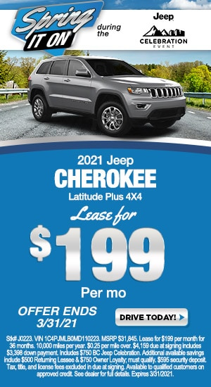 March - Jeep Cherokee