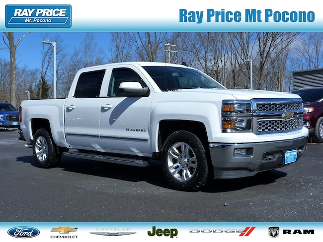 Certified Pre-Owned 2015 Chevrolet Silverado 1500 LT Truck Crew Cab For Sale East Stroudsburg, PA