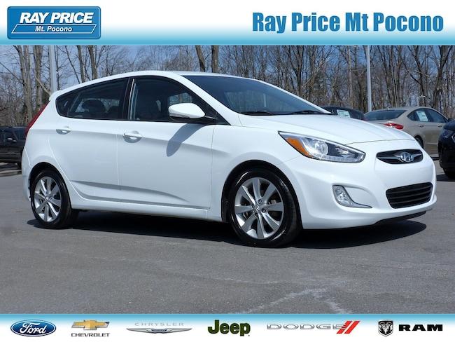 Bargain Used 2014 Hyundai Accent SE Hatchback in Mount Pocono