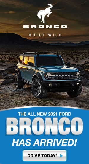 2021 Bronco Has Arrived