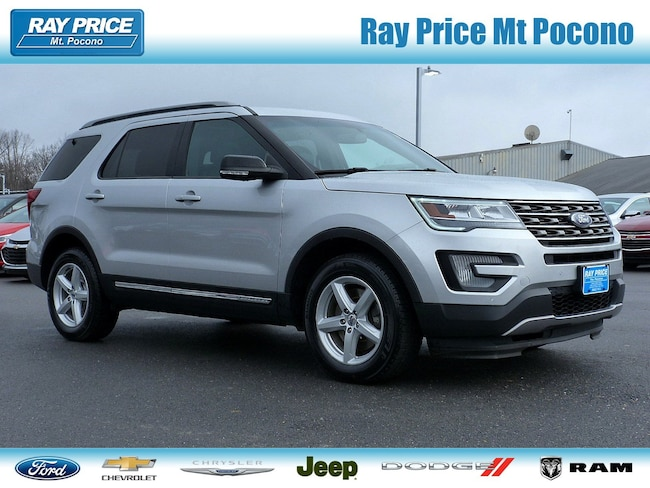Certified Used 2016 Ford Explorer XLT SUV in Mount Pocono
