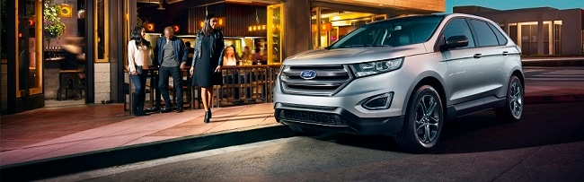 Ford Edge Trim Levels  Ford Edge In Ingot Silver