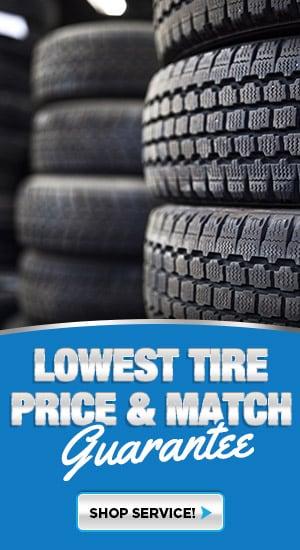 Slide - Tire Price Match
