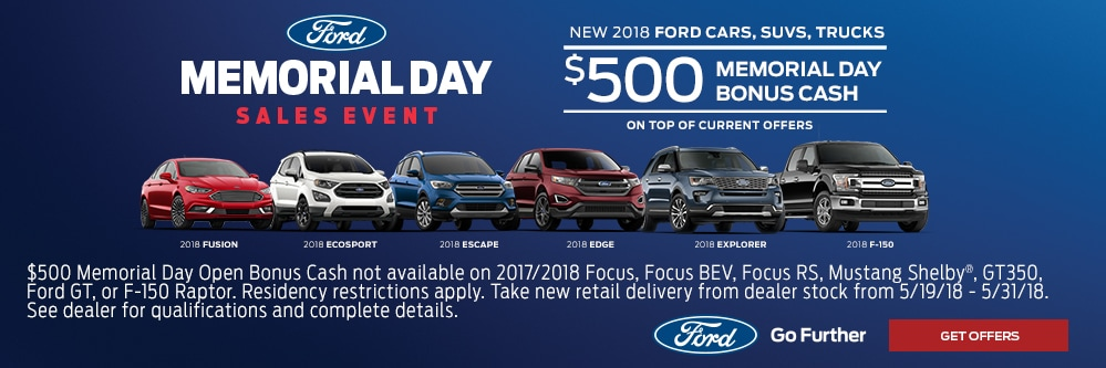 Memorial Day Car Sales 2017 >> Memorial Day Sales Event Ray Price Ford