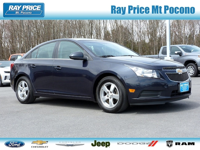 Bargain Used 2014 Chevrolet Cruze Sedan in Mount Pocono