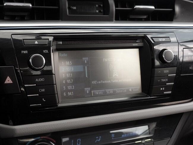 toyota corolla 2014 stereo update
