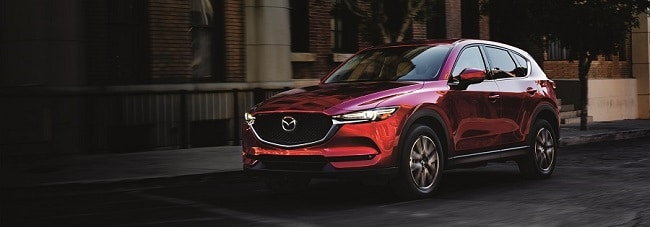 2018 Mazda CX-5 in Soul Red Crystal Metallic