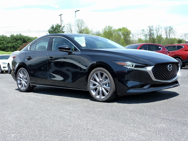 New 2019 Mazda Mazda3 w/Premium Pkg Sedan in East Stroudsburg