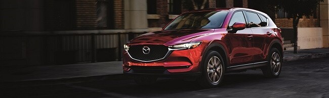 2018 Mazda CX-5 in Soul Red Metallic