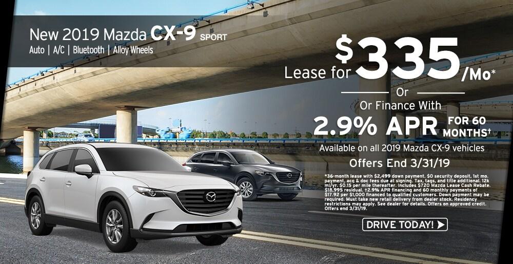 mazda cx-9 lease east stroudsburg   ray price mazda