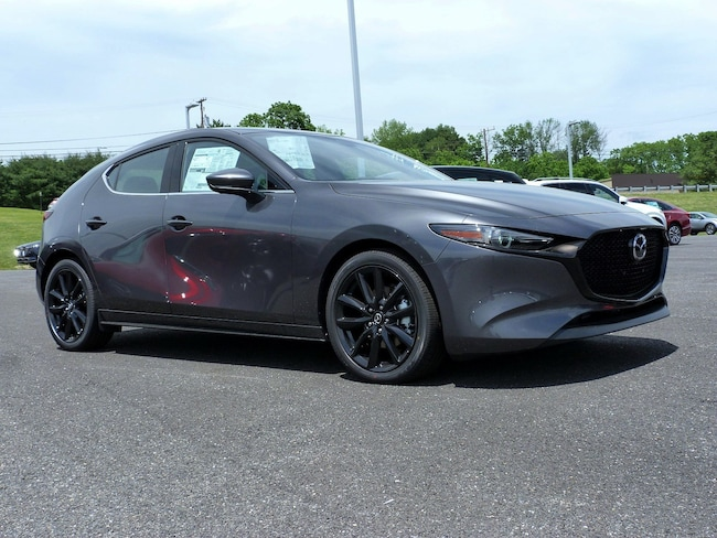 New 2019 Mazda Mazda3 w/Premium Pkg Hatchback in East Stroudsburg