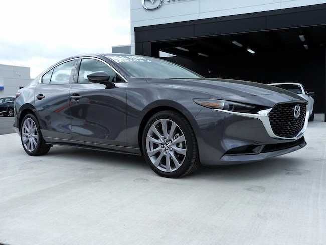 New 2019 Mazda Mazda3 w/Premium Pkg Sedan in East Stroudsburg