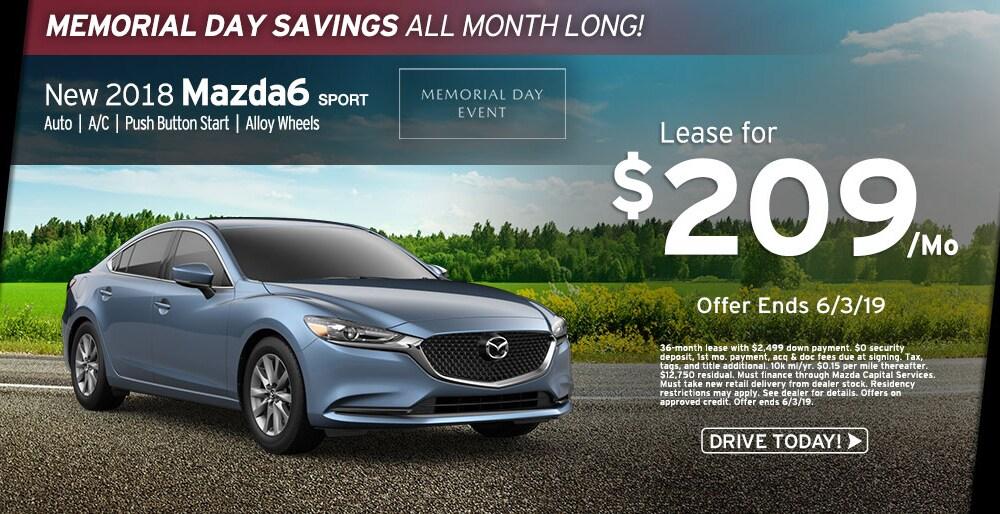 Mazda Capital Services >> Lease A New 2018 Mazda6 For 209 Mo At Ray Price Mazda Stroudsburg