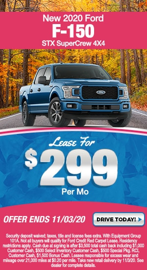 New Special - New 2020 Ford F-150 XL STX SuperCrew 4X4