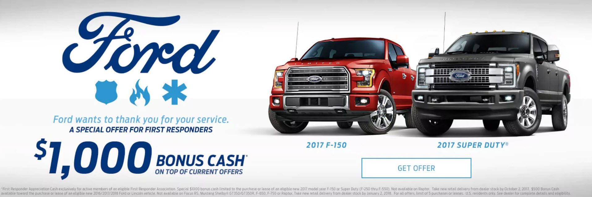 Ford First Responder >> Ford First Responders Bonus Cash Ray Price Ford