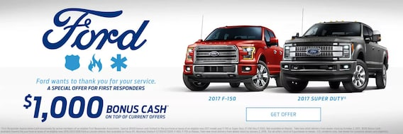 Ford First Responder >> Ford First Responders Bonus Cash Ray Price Stroud Ford Lincoln