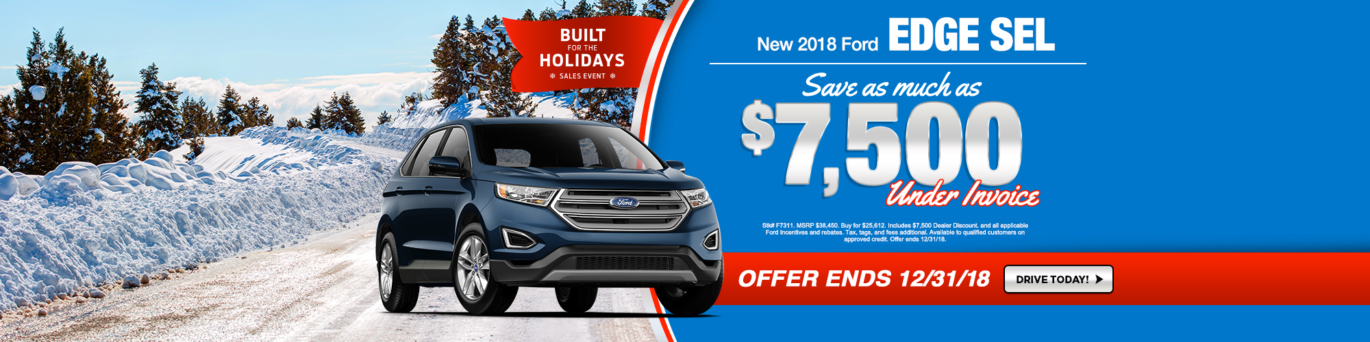 Buy A New  Ford Edge And Save  At Ray Price Ford Stroudsburg Pa