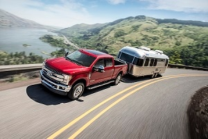 2019 Ford F-250 in Race Red